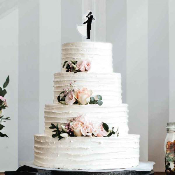 Cake Topper Brautpaar