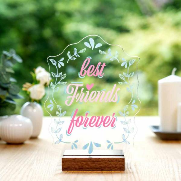 Dekoaufsteller best Friends forever