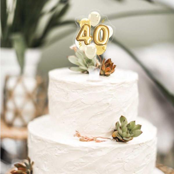 Cake Topper 40. Geburtstag
