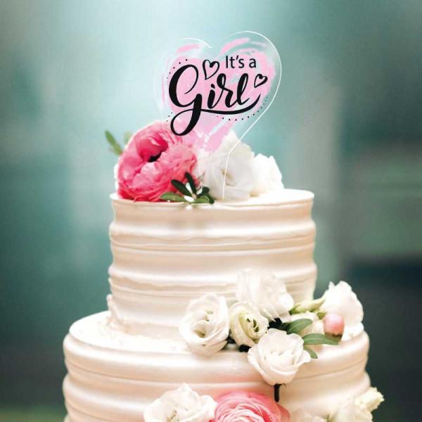 Cake Topper It's a Girl