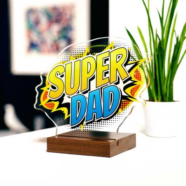 Dekoaufsteller Super Dad