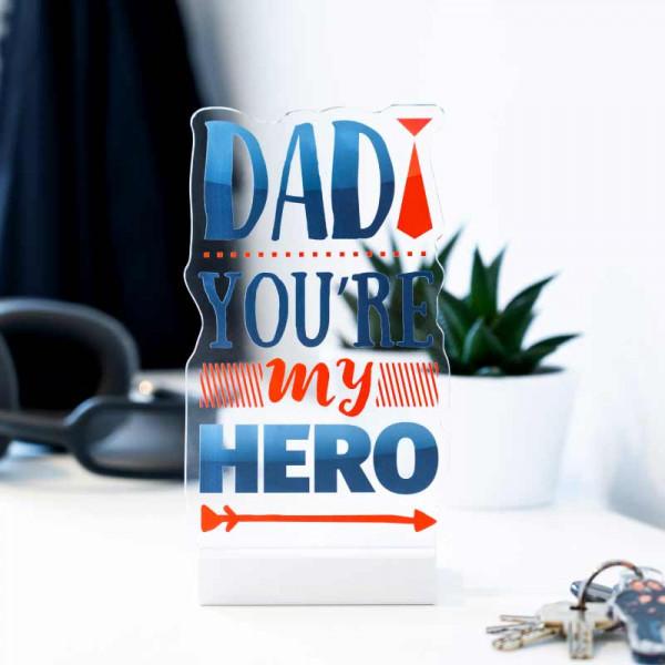 Dekoaufsteller Dad my Hero
