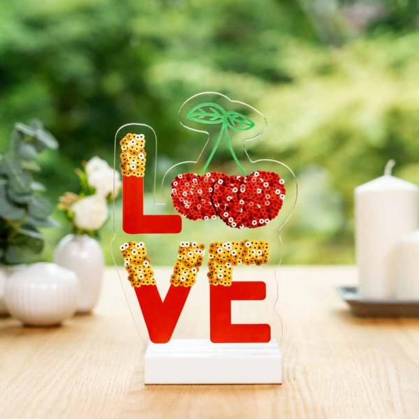 Dekoaufsteller LOVE