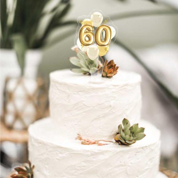 Cake Topper 60. Geburtstag